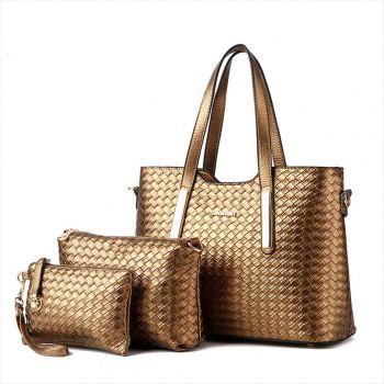 Female Handbag 3pieces in one wholesale A